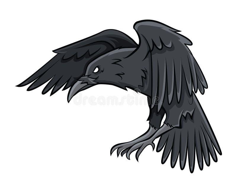 korpsvart vektor illustrationer