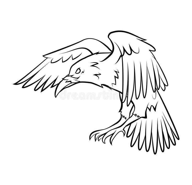 korpsvart stock illustrationer