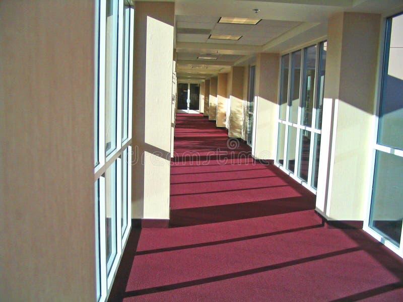 korridor royaltyfria foton