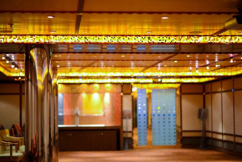 Korridor för inredesign royaltyfria bilder