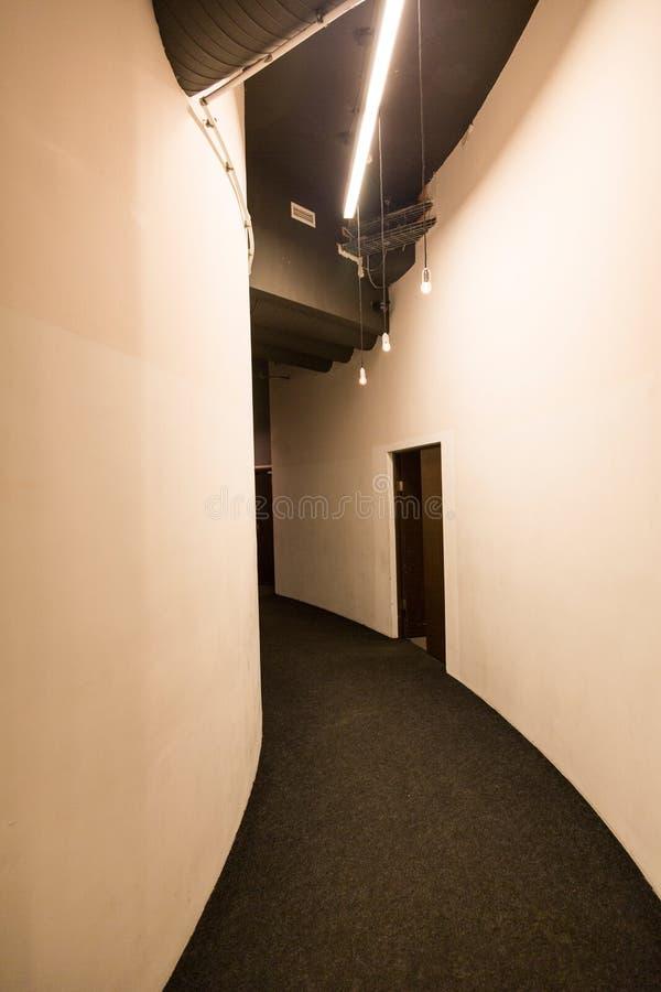 Korridor i regeringsställning som bygger royaltyfri fotografi