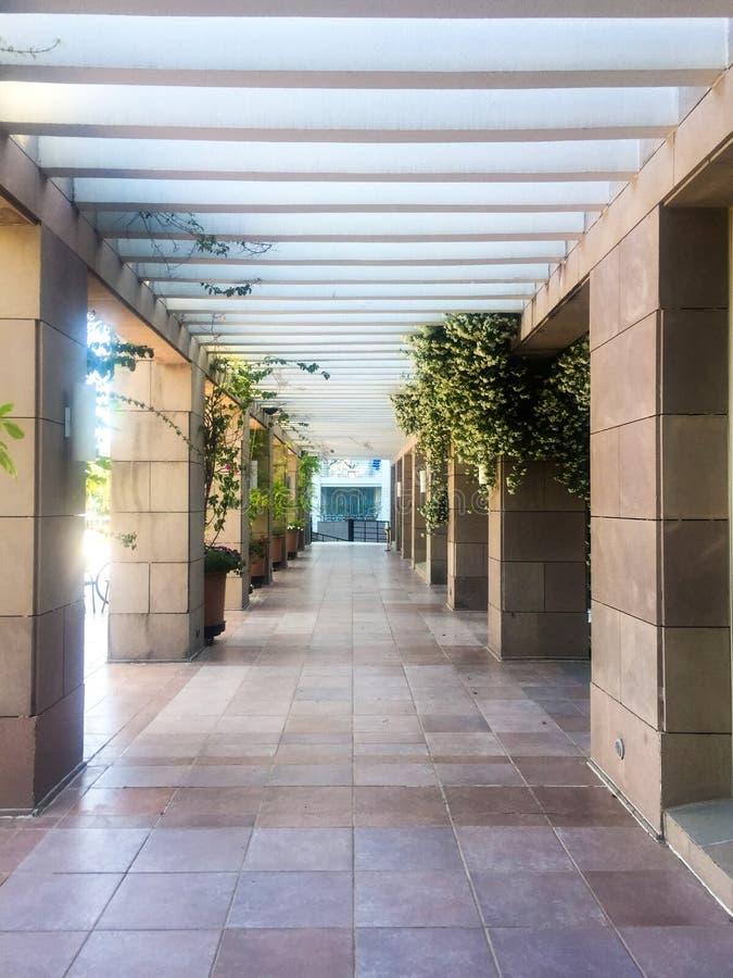 Korridor-Innenraum lizenzfreie stockbilder