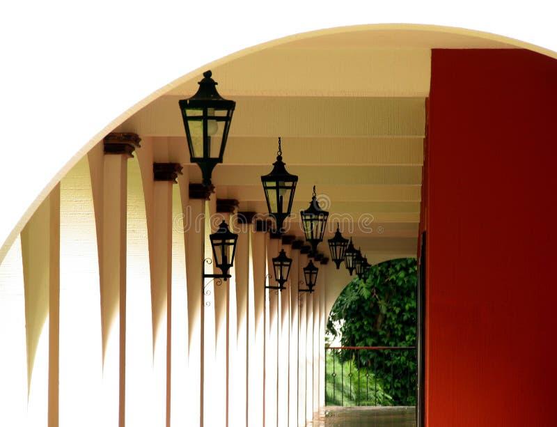 Korridorhotell Arkivbilder