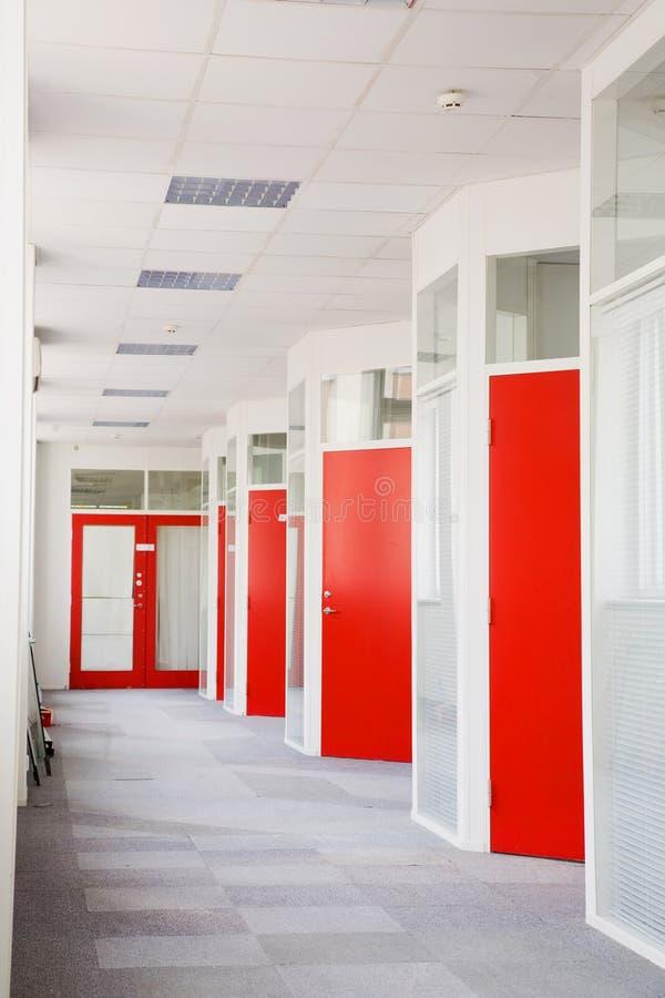 korridorkontor arkivfoto