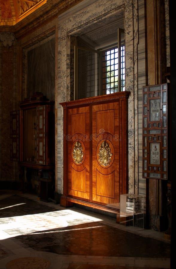 korridormuseer vatican royaltyfri foto