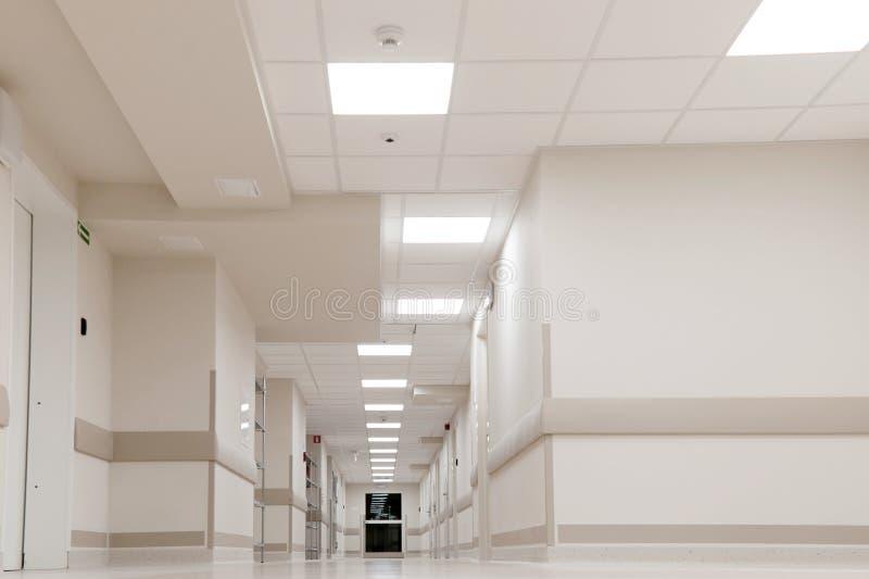 korridorsjukhuskontor royaltyfri bild