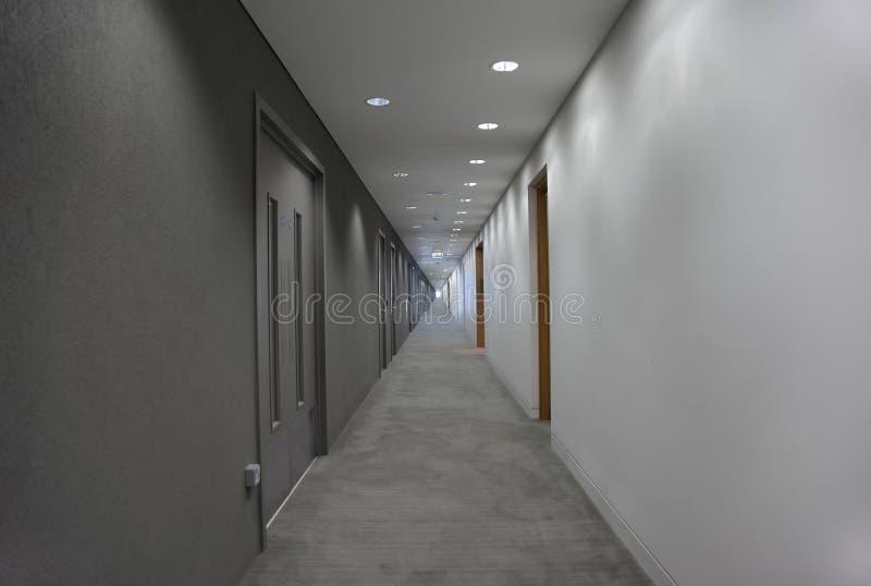 korridorslutlampa royaltyfria foton