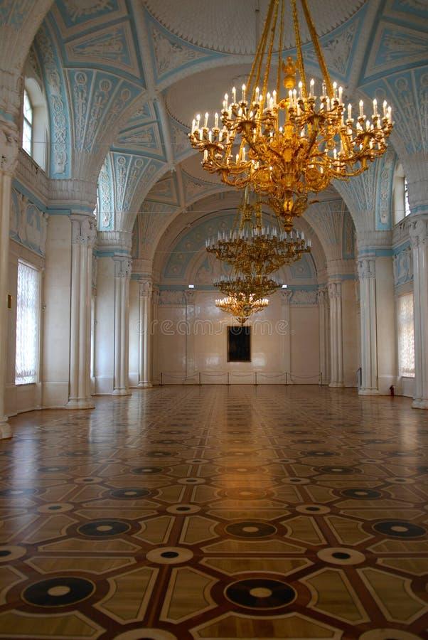 korridorwhite arkivbild