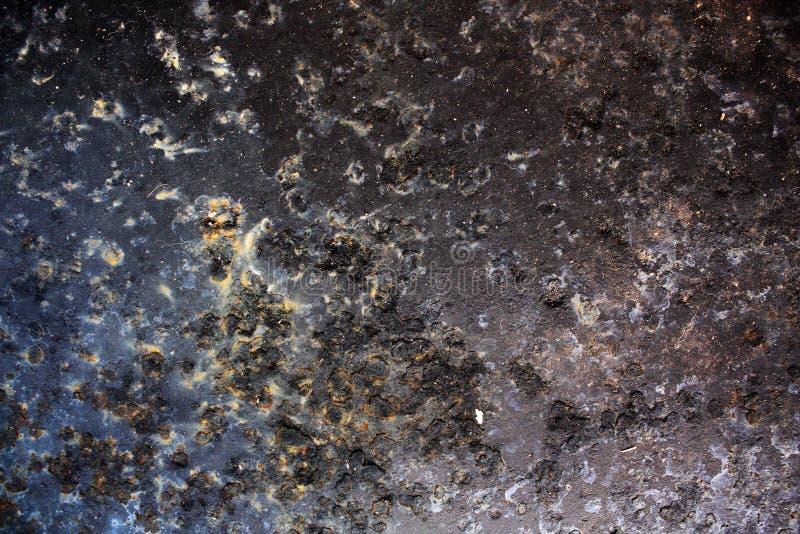 Schwarzes Metall korrodiertes schwarzes metall stockfoto bild rost stahl 12365918