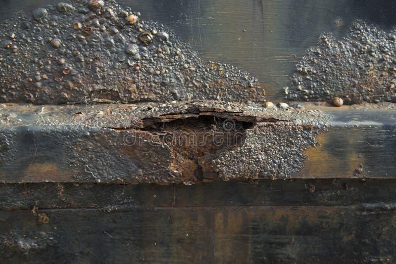 korrosion lizenzfreies stockbild