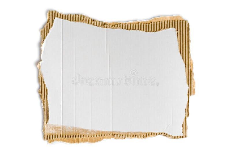 korrugerad fiberboard royaltyfria bilder