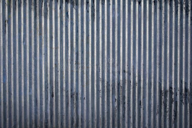 korrugerad ståltextur arkivbilder