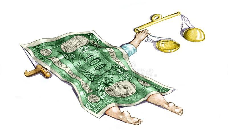 korruption lizenzfreie abbildung