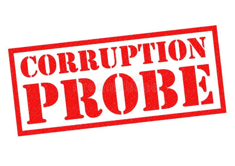Korruptionsond vektor illustrationer