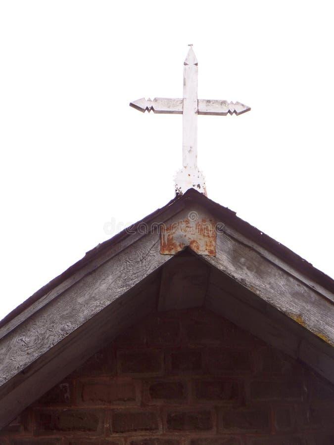 Kors på kyrkan för St John's, Dalhousie royaltyfri bild