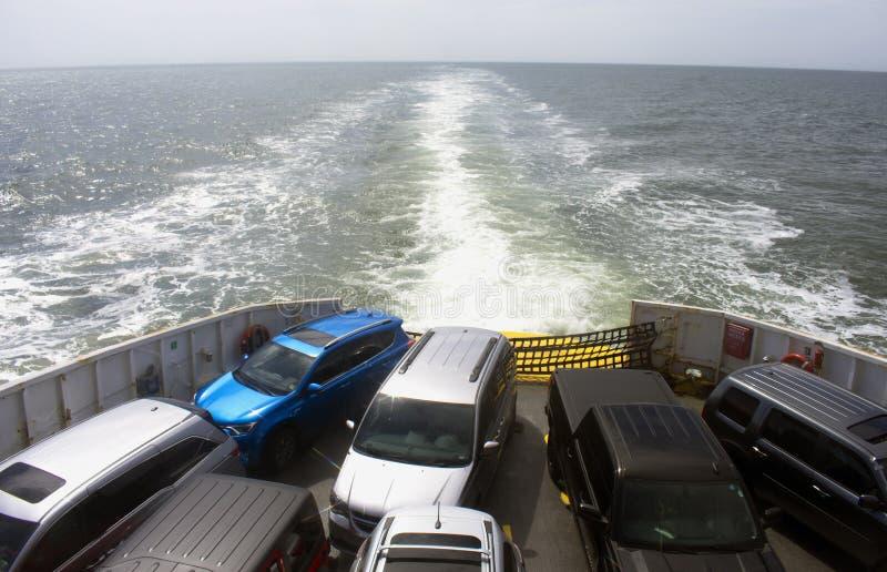 Korsa den Delaware fjärden med färja -07 fotografering för bildbyråer