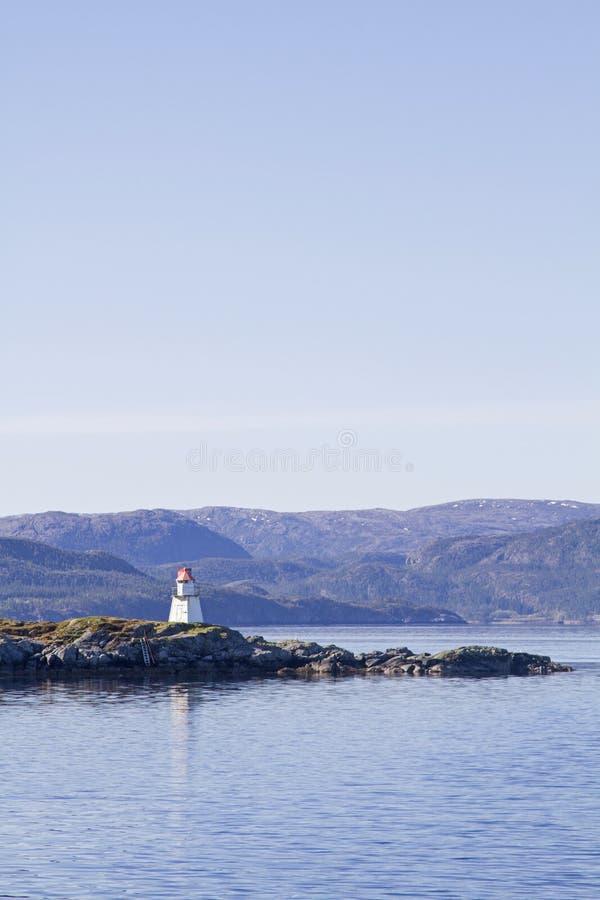 Korsa Foldafjorden arkivbilder