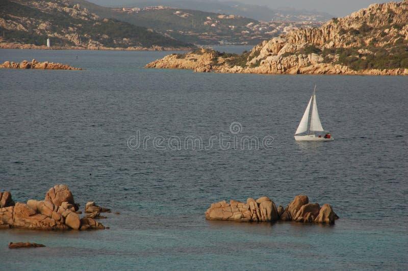 Korsa havet D arkivbilder