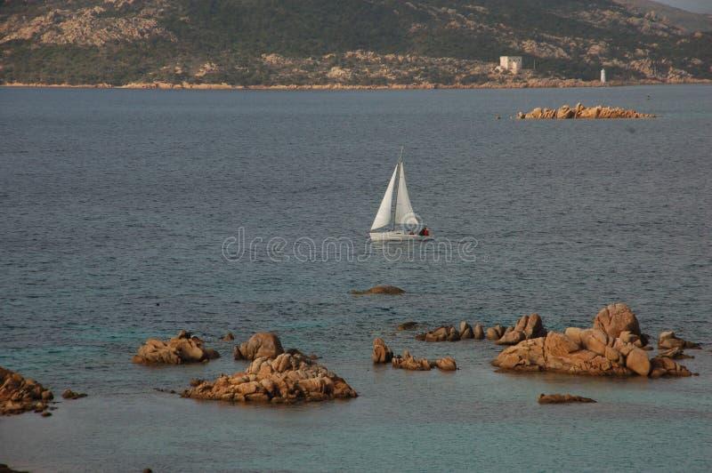 Korsa havet e arkivfoto