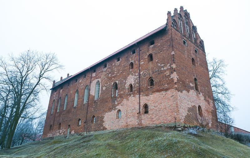 Korsfarares slott arkivbild