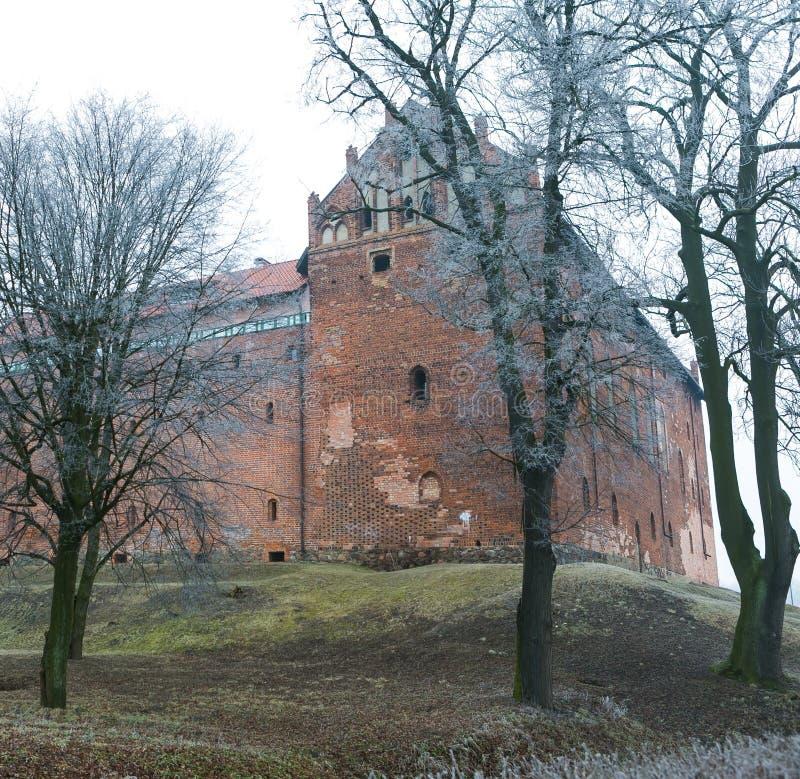 Korsfarares slott royaltyfria bilder