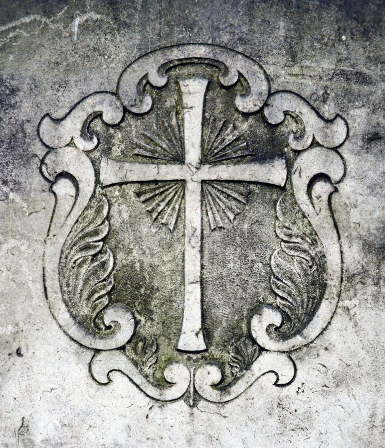 Korsgrav arkivfoto