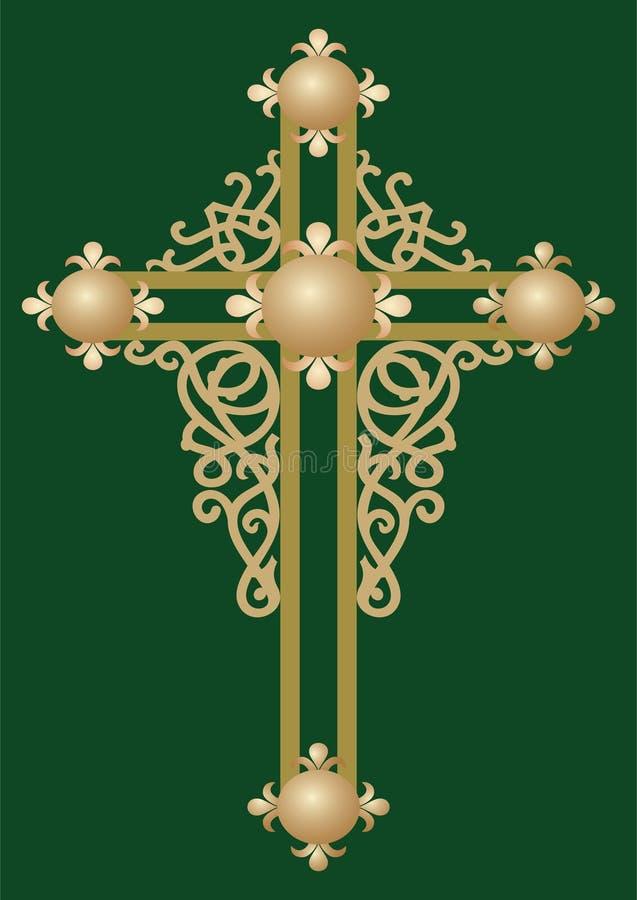 korshelgedom för 2 kristen stock illustrationer