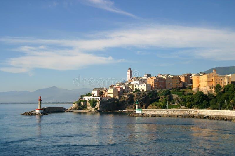 Korsika Bastia stockbilder