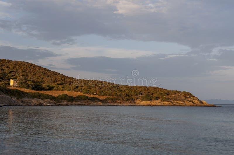 Korsika Corse, Cap Corse, övreCorse, Frankrike, Europa, ö fotografering för bildbyråer
