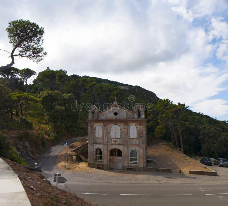 Korsika Corse, Cap Corse, övreCorse, Frankrike, Europa, ö royaltyfria bilder