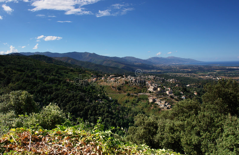 Korsika-Costa Serena lizenzfreie stockfotos