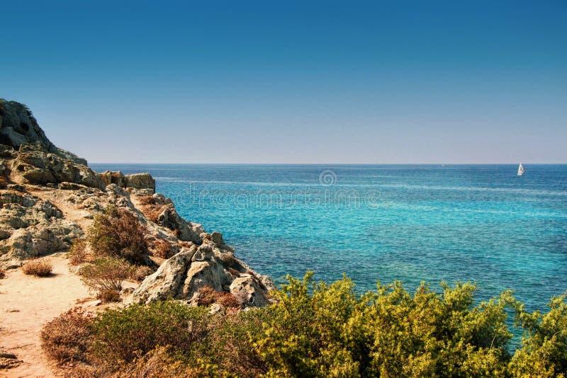 Korsika - die Insel der Schönheit, Frankreich lizenzfreies stockfoto