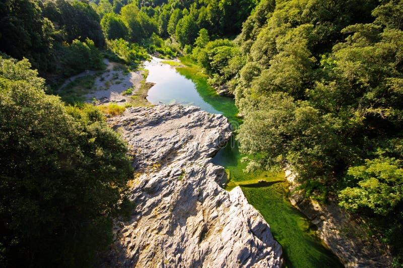 Korsika-Fluss stockbild