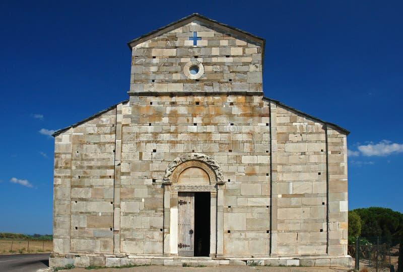 Korsika-Kirche stockfotografie