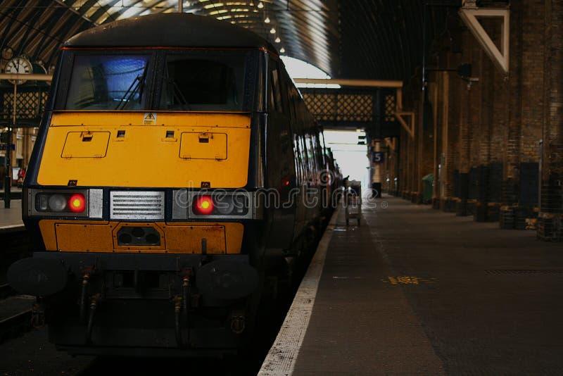 korskonunglondon s station royaltyfria foton