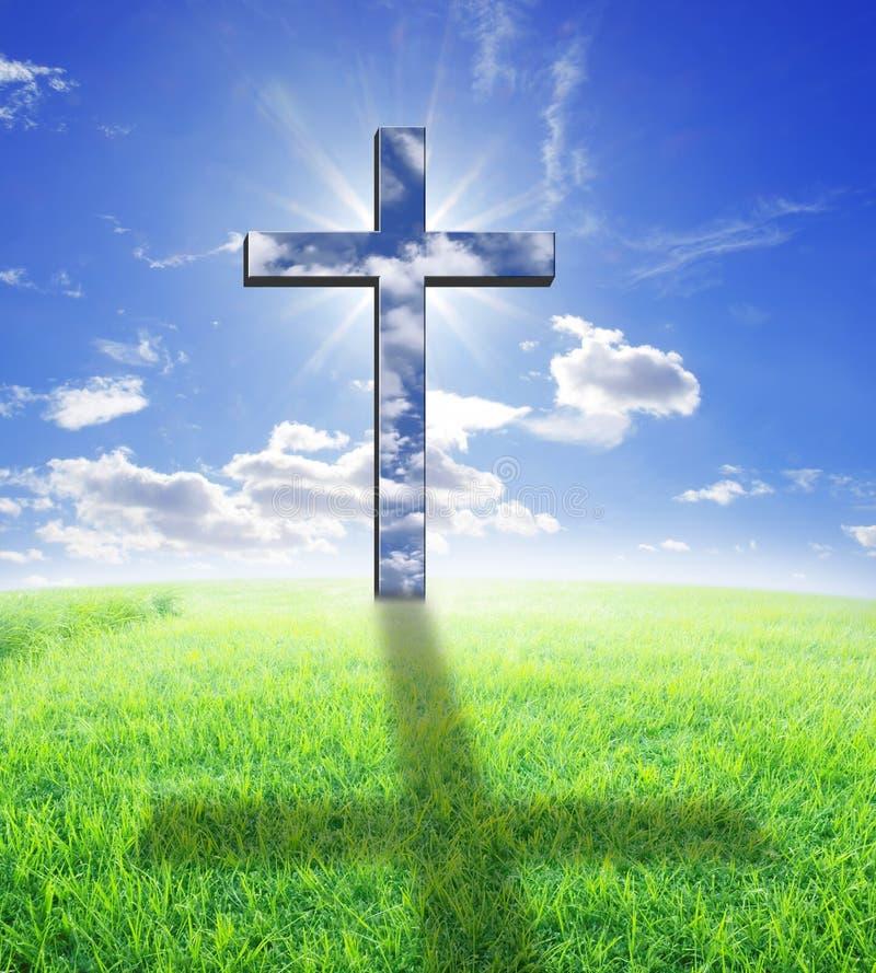 Download Korssolljus arkivfoto. Bild av evangelium, uppståndelse - 19775648