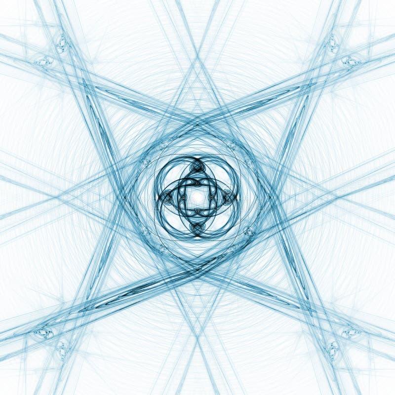 korsstjärna royaltyfri illustrationer