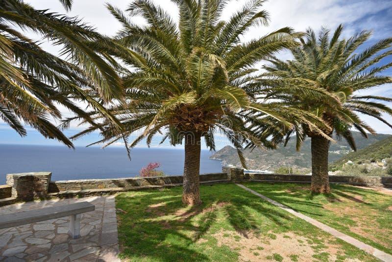 Korsykański grodzki święty zdjęcia stock