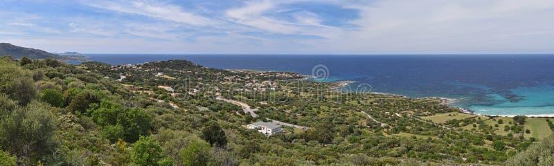 Korsykanin brzegowy Balagne obrazy stock