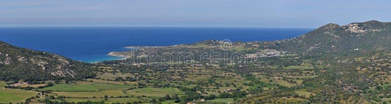 Korsykanin brzegowy Balagne zdjęcia stock