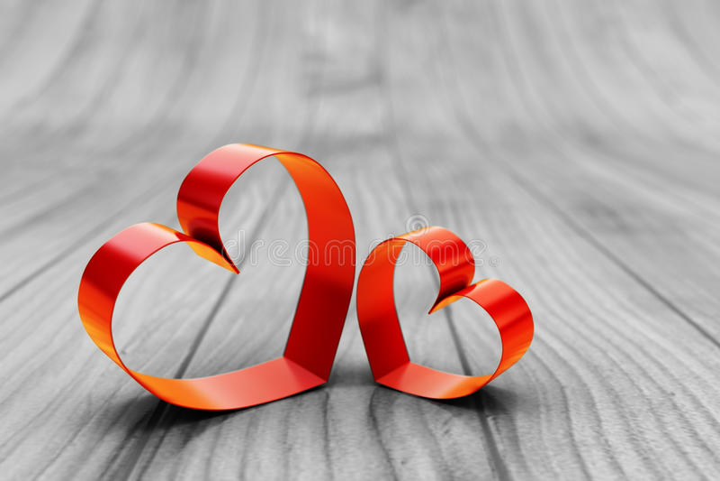 Kort för St-valentindag, romantiskt förälskelsebegrepp vektor illustrationer