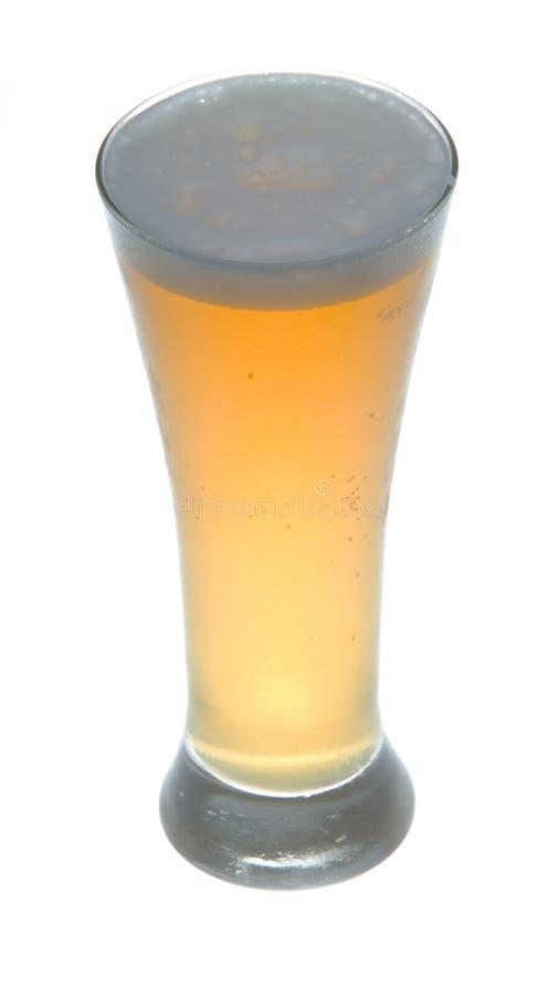 Kort glas bier stock afbeeldingen