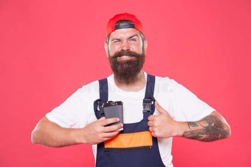 Kort kaffebrytning ger anställda snabba sätt att slappna av Kaffebrott håller dig vaken och varnar Mekanisk njuta fotografering för bildbyråer