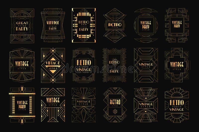 Kort med den traditionella asiatiska modellen, original- design, illustrationer för vektor för dekorativ malltextur färgrika royaltyfri illustrationer
