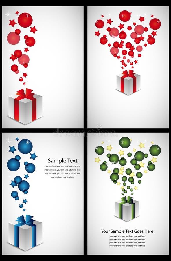 kort som greeting stock illustrationer