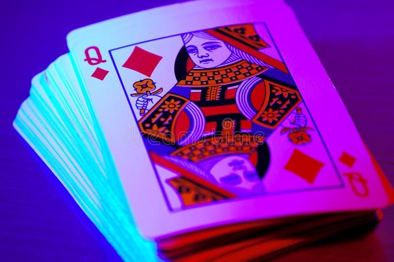 Kortdäck Royaltyfri Fotografi