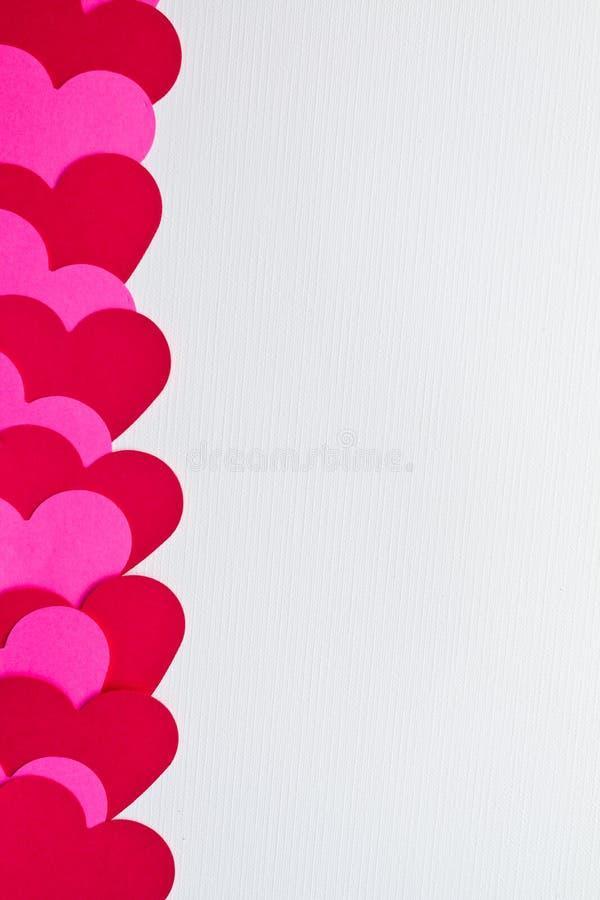 Kortdagvalentiner Royaltyfri Foto