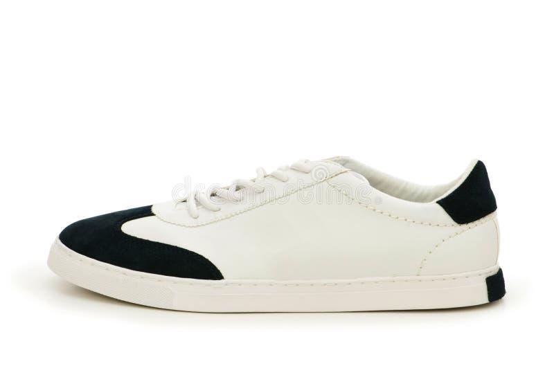Korte geïsoleerdee schoen stock afbeelding