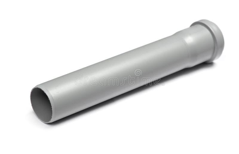Korte plastic pijp royalty-vrije stock afbeelding