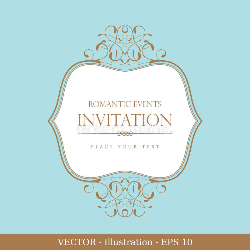 kortinbjudantappning vektor illustrationer